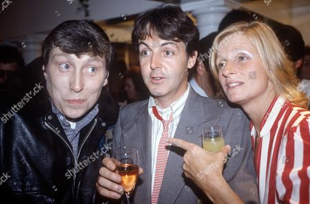 Chris Farlowe, Paul McCartney, Linda McCartney