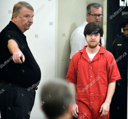 """Ethan Couch hearing. Ethan Couch is brought into court for a hearing at Tim Curry Justice Center in Fort Worth, Texas, . The judge ordered Couch, the Texas teenager who used an """"affluenza"""" defense in a fatal drunken-driving wreck, to serve nearly two years in jail"""