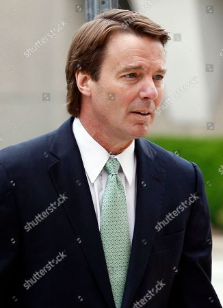 Former presidential candidate and Sen. John Edwards arrives at a federal courthouse in Greensboro, N.C., . Edwards is accused of conspiring to secretly obtain more than $900,000 from two wealthy supporters to hide his extramarital affair with Rielle Hunter as well as her pregnancy. He has pleaded not guilty to six charges related to violations of campaign finance laws