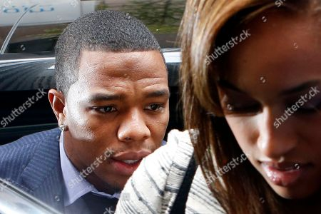 """Ray Rice, Janay Palmer. Ray Rice arrives with his wife Janay Palmer for an appeal hearing of his indefinite suspension from the NFL in New York. Ex-Ravens player Ray Rice has posted a statement apologizing to fans for a """"horrible mistake"""" and asking for forgiveness. In a statement released, to The Baltimore Sun and posted on his Facebook page, Rice wrote that he was sorry for letting down the young fans who looked up to him"""