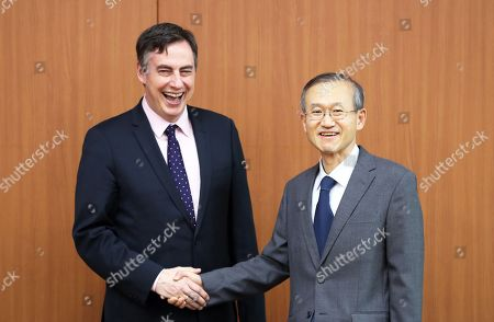 David McAllister and Lim Sung-nam