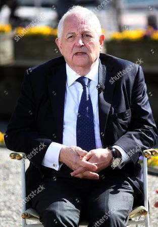 Associated editor and chief Economics commentator at the Financial Times London Martin Wolf during the forum 'The outlook for the economy and finance' organized by 'The European House - Ambrosetti' at Villa d'Este in Cernobbio, Italy, 06 April 2018. The 29th edition of the meeting takes place between 06 and 07 April 2018.