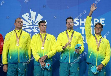 Editorial photo of Commonwealth Games Swimming, Gold Coast, Australia - 06 Apr 2018