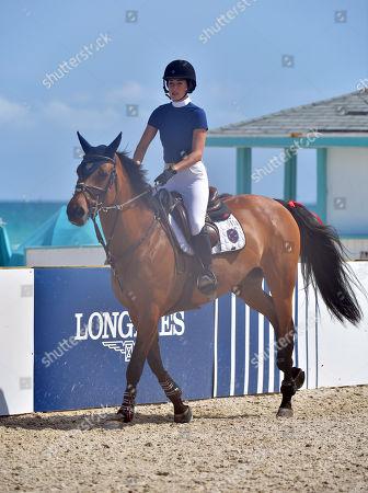 Editorial photo of Longines Global Champions Tour, Miami, USA - 05 Apr 2018