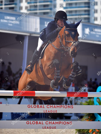 Editorial picture of Longines Global Champions Tour, Miami, USA - 05 Apr 2018