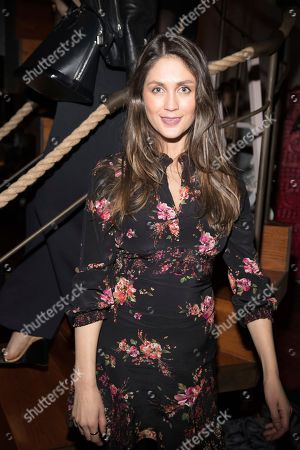 Stock Picture of Dominique Huett attends the Spring Soirée presented by Luna at Luna NYC, in New York