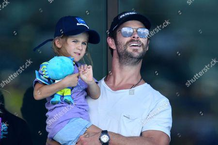 Chris Hemsworth and India-Rose Hemsworth