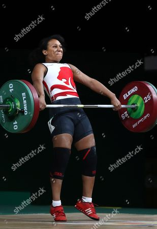 Editorial photo of Commonwealth Games Weightlifting, Gold Coast, Australia - 07 Apr 2018
