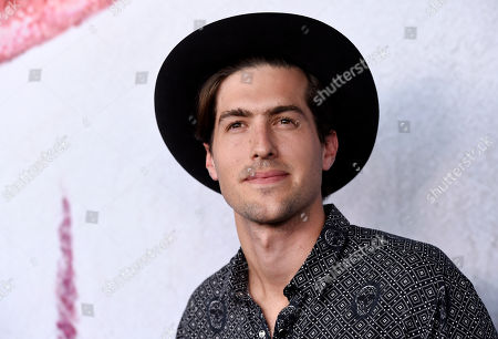 """Stock Image of Andrew Duplessie, a cast member in the television series """"American Horror Story: Cult,"""" poses at an Emmy For Your Consideration screening of the show, in Beverly Hills, Calif"""