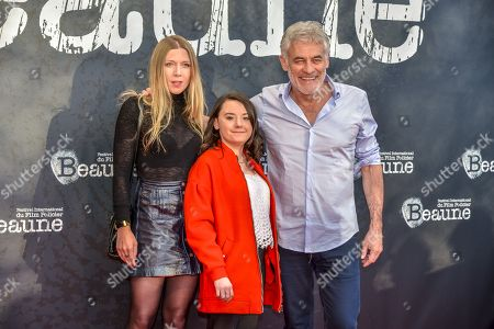 Stock Picture of Fanget Signolet, Lauréna Thellier and Erick Zonca