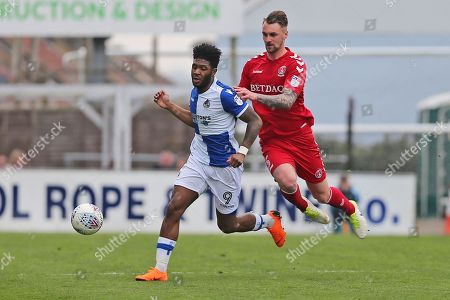 Editorial picture of Bristol Rovers v Charlton Athletic, EFL Sky Bet League 1 - 07 Apr 2018