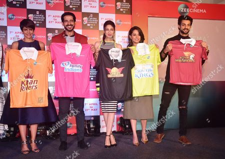 Editorial photo of Zee Cinema announces Cinema Premier League in Mumbai, India - 05 Apr 2018