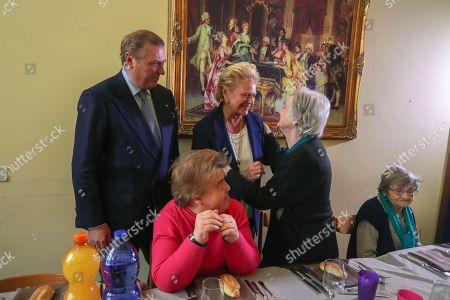 Prince Carlo and Princess Beatrice