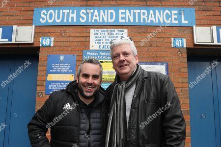 Fulham commentators Jamie Reid and Jim McGullion