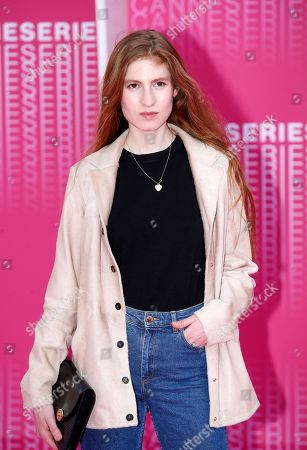 Agathe Bonitzer at the 'The Truth About the Harry Quebert Affair' screening