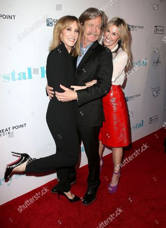 Stock Picture of Felicity Huffman, William H. Macy and Rachel Winter