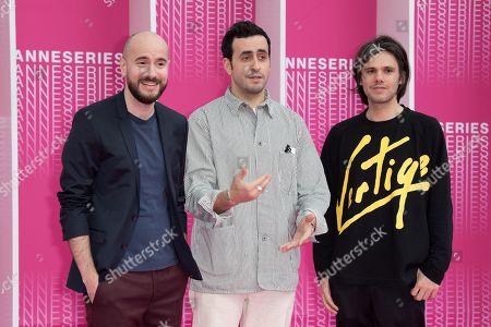 Stock Photo of Kyan Khojandi, Jonathan Cohen and Orelsan