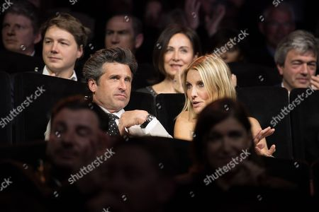 Patrick Dempsey and his wife Jillian Fink