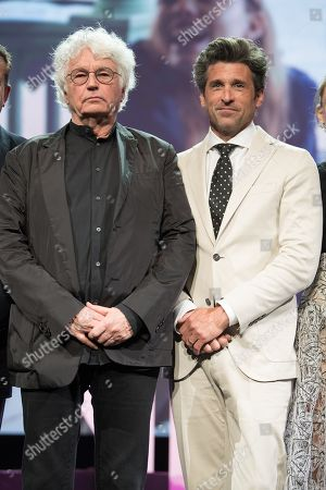 Jean-Jacques Annaud and Patrick Dempsey