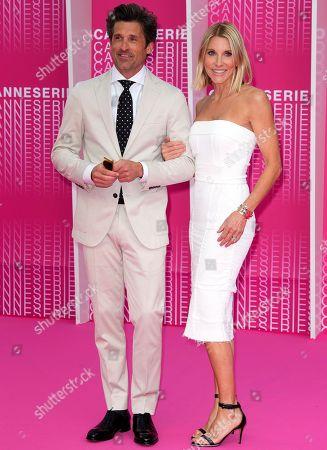 Patrick Dempsey and Jillian Fink