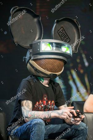 Deadmau5 at the PAX East Xbox Live Sessions at the Boston Convention and Exhibition Center on in Boston