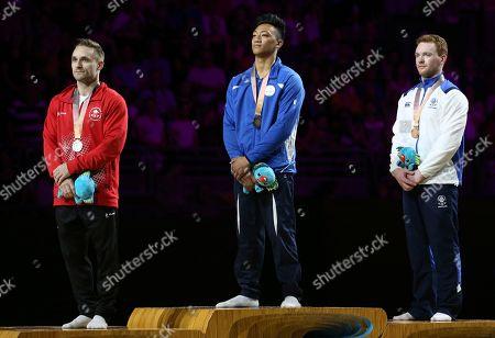 Editorial photo of Commonwealth Games Gymnastics, Gold Coast, Australia - 08 Apr 2018