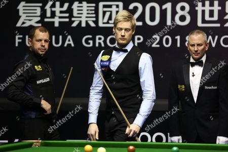 Editorial photo of World Snooker China Open, Beijing - 07 Apr 2018