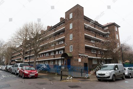 Reardon House in Wapping, Tower Hamlets, where it is alleged that a local election candidate was beaten over the head by a gang armed with a metal pole while he was out canvassing. Abdullah Al Mamun, a candidate for the Independent Aspire Party who is running for councillor, says he was knocking on a door on the landing of Reardon House on Friday 6th April at about 5pm when he was repeatedly struck over back of the head with a metal pole resulting in major trauma and injury to his head requiring hospital treatment and ten stitches. The Aspire Party is led by Ohid Ahmed, the former deptuty to former Mayor of Tower Hamlets, Lutfur Rahman.