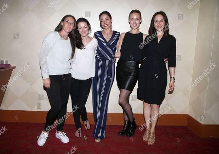 Vanessa Piazza, Zoie Palmer, Emmanuelle Vaugier, Rachel Skarsten, Anna Silk