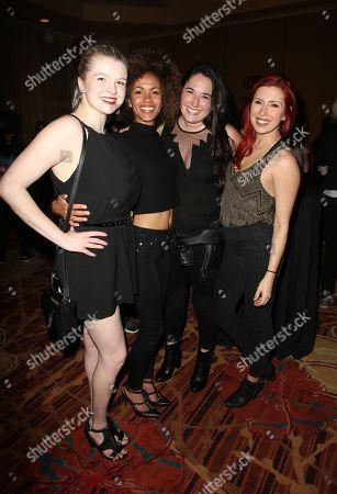 Stock Photo of Bryn Apprill, Erica Luttrell, Jessie Mallers, Elizabeth Maxwell