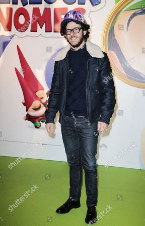 Michael Gregorio attends at Gaumont Opera, Sherlock Gnomes Avant Premiere