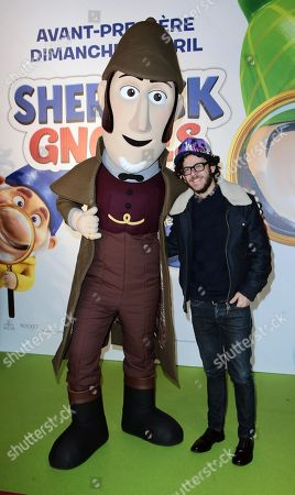 Michael Gregorio attends at Gaumont Opera, Sherlok Gnomes Avant Premiere