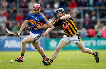 Kilkenny vs Tipperary . Kilkenny Enda Morrissey and Sean Curran of Tipperary