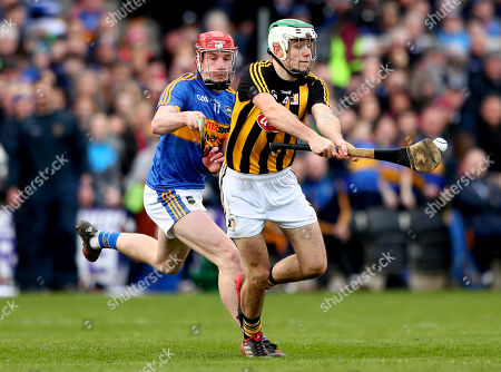 Kilkenny vs Tipperary . Tipperary's Billy McCarthy and Paddy Deegan of Kilkenny