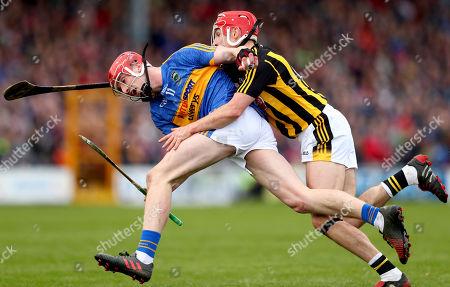 Kilkenny vs Tipperary . Tipperary's Billy McCarthy and Cillian Buckley of Kilkenny