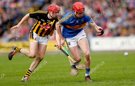 Stock Photo of Kilkenny vs Tipperary . Kilkenny's James Maher and Billy McCarthy of Tipperary