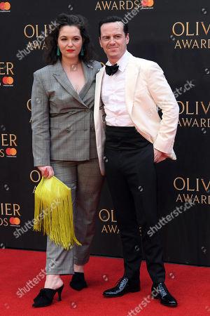 Andrew Scott and Hannah James
