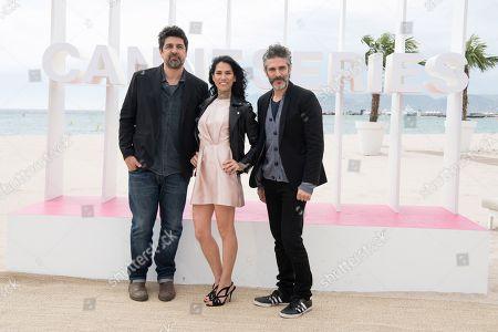 Cesc Gay, Mi Hoa Li and Leonardo Sbaraglia