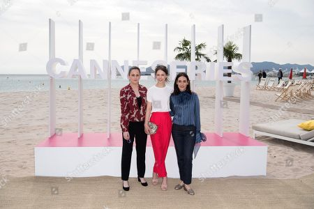Jury Members Melisa Sozen, Audrey Fouche and Paula Beer