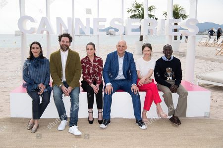 Editorial image of Jury photocall, Cannes International Series Festival, France - 08 Apr 2018