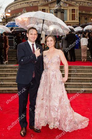Editorial photo of The Olivier Awards, VIP Arrivals, Royal Albert Hall, London, UK - 08 Apr 2018