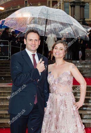 Editorial image of The Olivier Awards, VIP Arrivals, Royal Albert Hall, London, UK - 08 Apr 2018