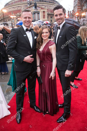 Tom Lister, Clare Halse and Simon Adkins