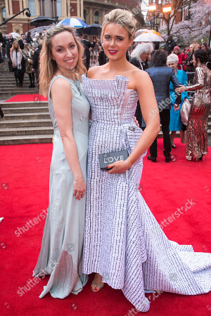 Editorial photo of '2018 Laurence Olivier Awards' arrivals, London, UK - 08 Apr 2018