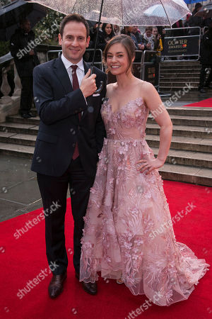 Stock Photo of Patrick Myles and Amy Noble