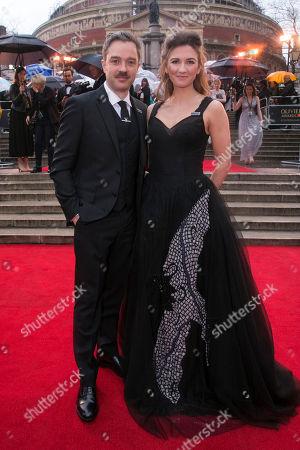 Stock Photo of Hadley Fraser and Summer Strallen