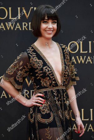 Editorial photo of Arrivals - 2018 Olivier Awards, London, United Kingdom - 08 Apr 2018