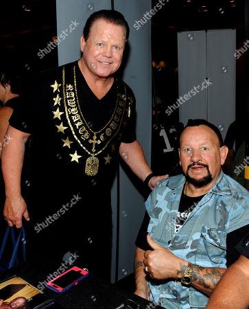 Jerry Lawler and Bushwhacker Luke Williams