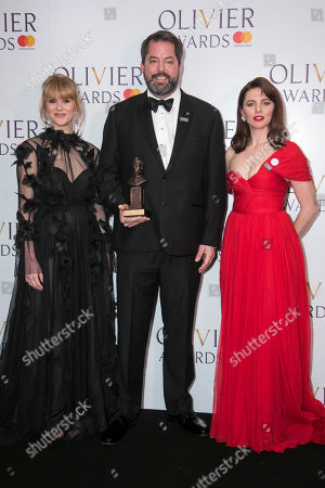 Editorial image of '2018 Laurence Olivier Awards' press room, London, UK - 08 Apr 2018