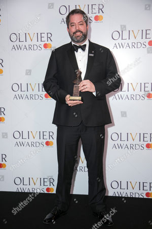 Editorial picture of '2018 Laurence Olivier Awards' press room, London, UK - 08 Apr 2018